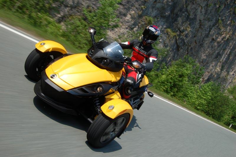 3 hjuling motorsykkel
